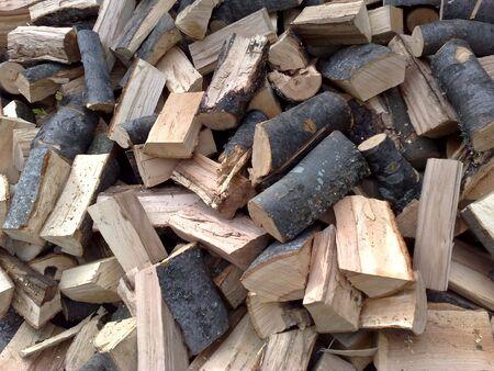 bundle of wood-beech-firing