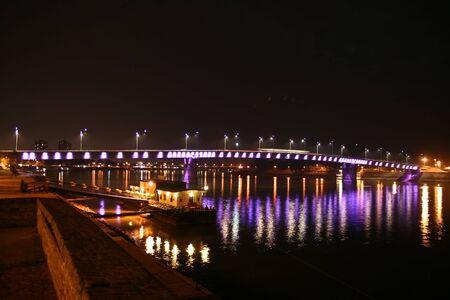 Rainbow bridge by night 3