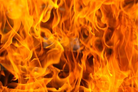 this is a close up shot of fire under my grill like nice background Stock Photo