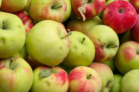 nice food: this is a close up shot of bundle of apples, like nice food background