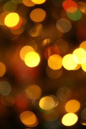 This is a Christmas tree lights, out of focus, like nice background.