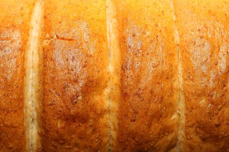 This is a closeup shot of bread surface, like some nice food background