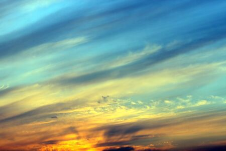 this is a sky in sunset, with beautiful color.