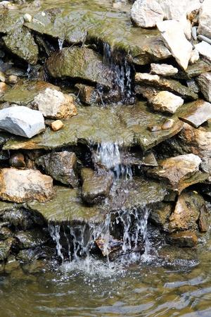 runnel: A little stream over  the rocks.