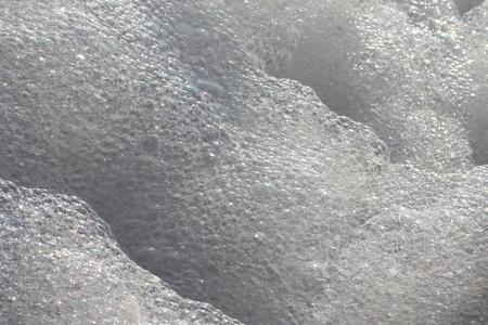 Hintergrund der Schaumseife, erschossen Nahaufnahme Lizenzfreie Bilder