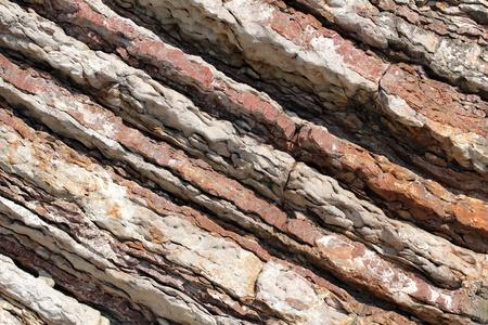 Closeup Schuss alten Klippe, f�r ein paar nette Hintergrund. Lizenzfreie Bilder