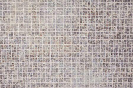 Weiße Backsteinmauer für Hintergrund und Textur Standard-Bild