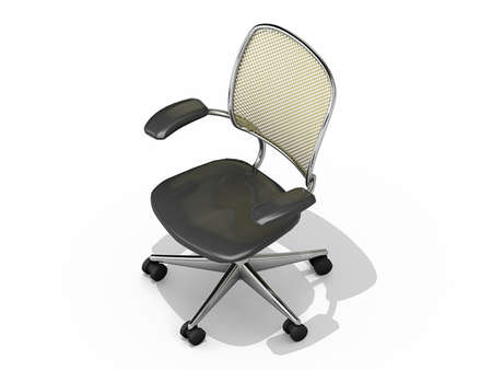 Office Chair on a white background. Stock Photo - 12048743