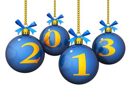 新しい年のクリスマスの装飾 2013年