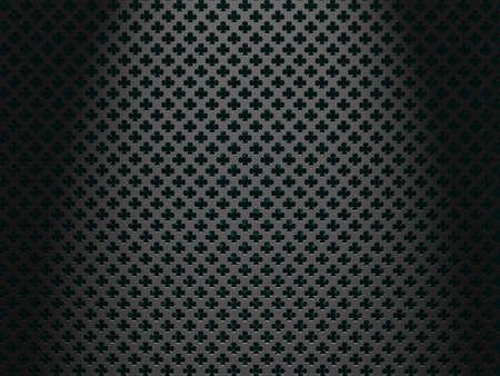 A St. Patrick's Shamrock speaker texture background. Stock Photo - 17421713