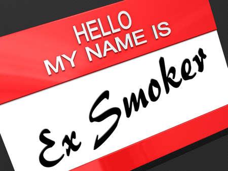 Hello My Name is  Stock Photo - 17710920