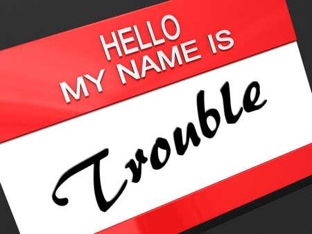 Hello My Name is  Stock Photo - 17812717
