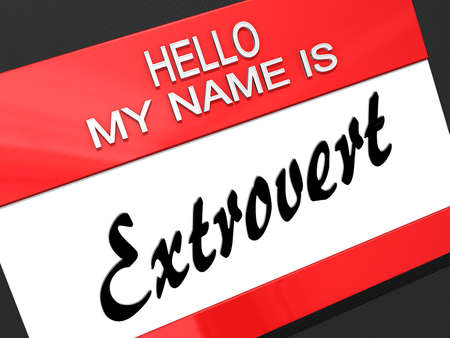 showoff: Hello My Name is  Stock Photo