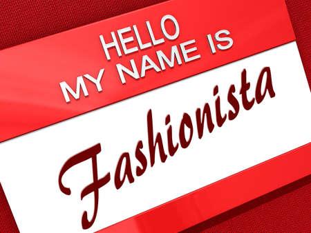 Hello My Name is  Banco de Imagens
