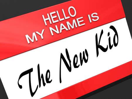 Hello My Name is Stock Photo - 18357857