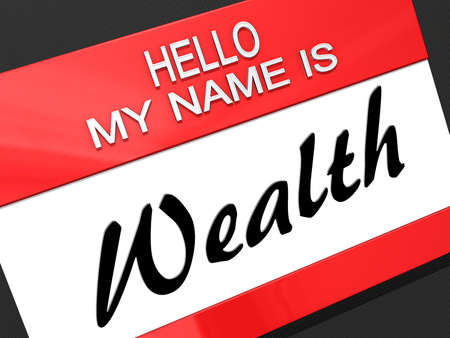 Hello My Name is  Stock Photo - 18357856
