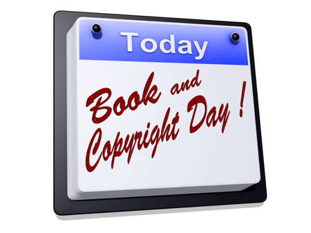 Book and Copyright Day Stock Photo - 18518861