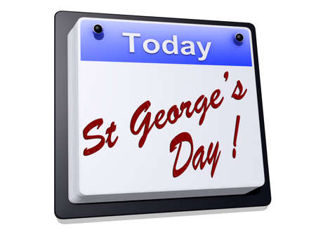feast: St Georges Day Stock Photo