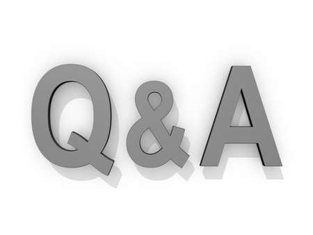 questions: Drop Cap Questions and Answers icon on a white background