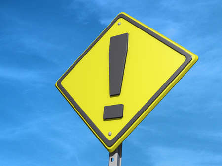 yield sign: A yield road sign with  Stock Photo