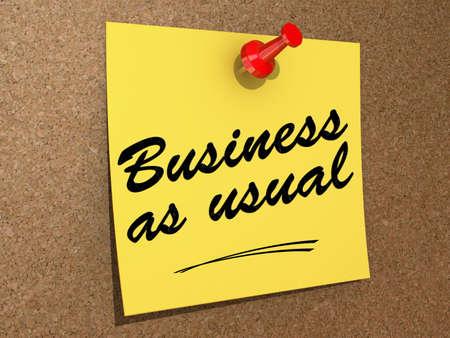 メモはテキスト ビジネスいつものようにコルクボードに固定されています。 写真素材