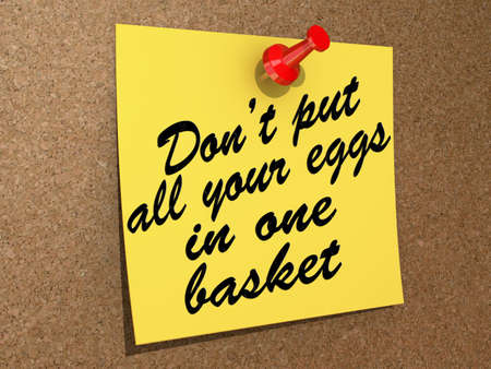 A note pinned to a cork board with the text Don