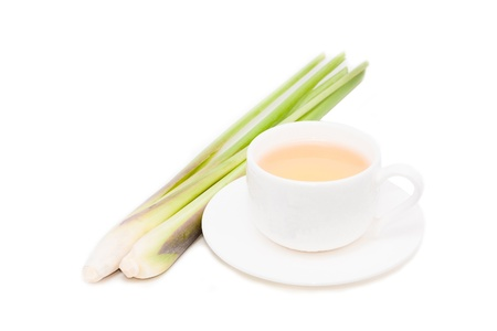 lemon grass and lemon grass tea