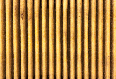 impure: texture of used car engine air filter