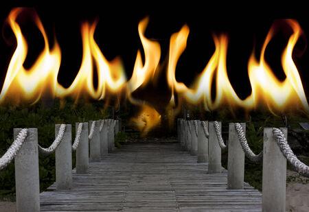 地獄への橋します。