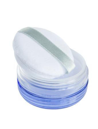 powder puff: purple powder puff