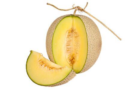 melon isolated on white Reklamní fotografie