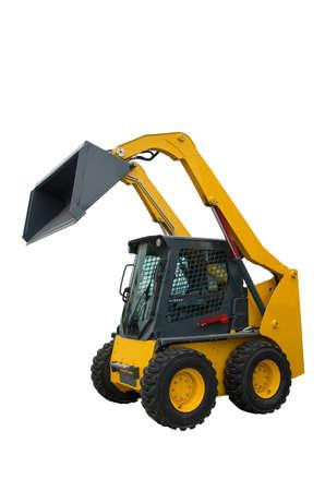 loader: Vertical-Lift Skid Loader. Wheel loader. Loading machine aggregates.