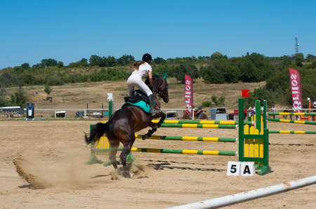 tourney: Jumping qualifier. Horse racing. This is a traditional event in the calendar of Bulgarian Equestrian Federation.