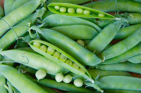seedpod: peas in a pod