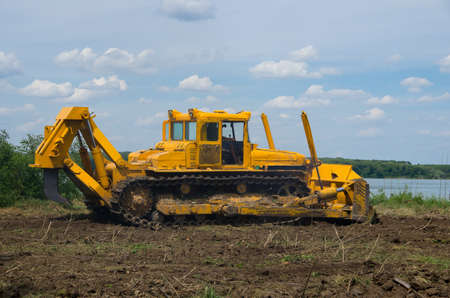 Bulldozer. Mechanical Site Preparation for Forestry.