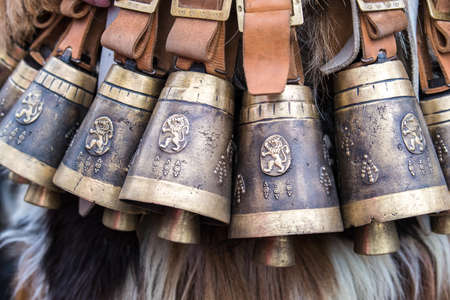 Folk Costumes of Kukeri in Bulgaria