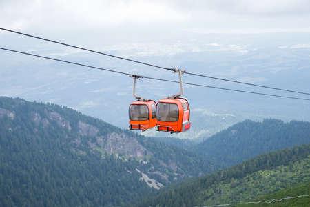 Cable Car in Rila Mountain - Bulgaria