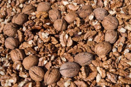 Healthy food. Walnuts good for Heart, high cholesterol
