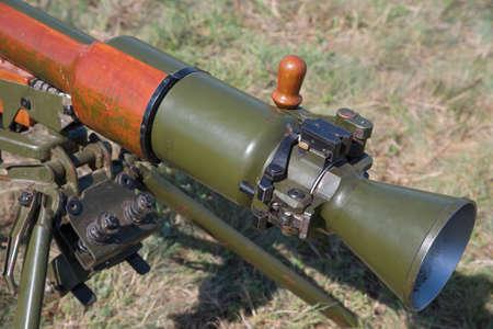 classical anti tank recoilless gun projectile