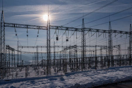 Winter Energy Payment. New electricity price forecasts. Power prices increase 스톡 콘텐츠
