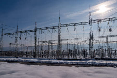 Power engineering. New electricity price forecasts. Concept. New power tariffs.