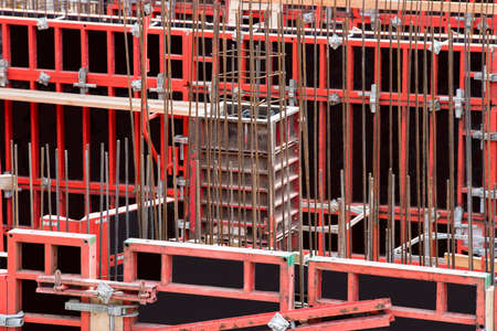 Steel Formwork for circular or curved structures. Shuttering for concrete construction