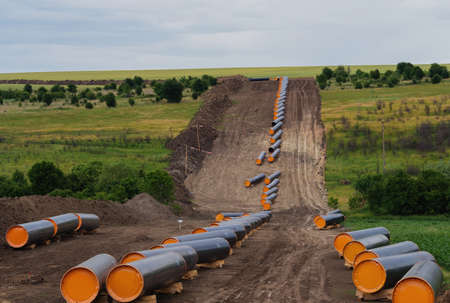 Construction works for pipeline Turkish Stream the second line in Bulgaria