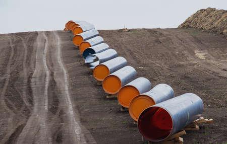 gas line to Europe 免版税图像