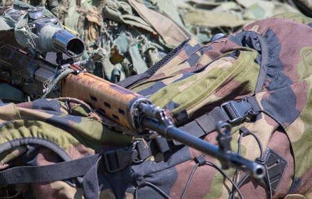 sniper and sniper rifle
