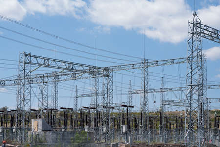 Power plant. Electrical sub-station