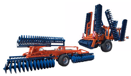 Agriculture Equipment. Place for text.