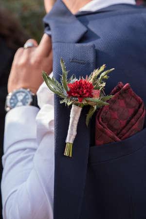 Formal mens grooms suit