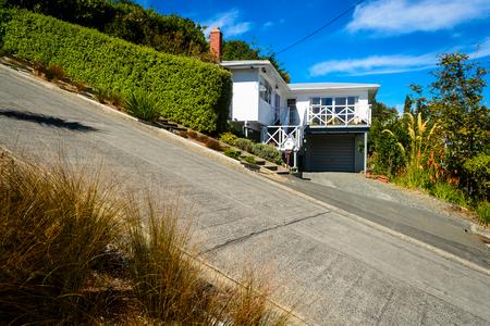 ボールドウィン ・ ストリート - ダニーデン、ニュージーランドは、世界で最も急な通り