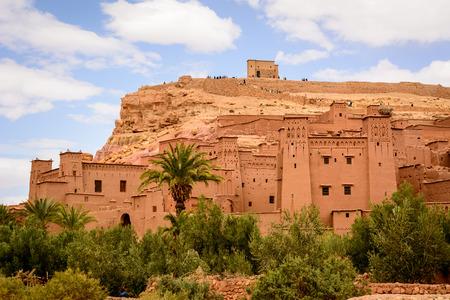 Panoramic photo of Ait Benhaddou, Morocco